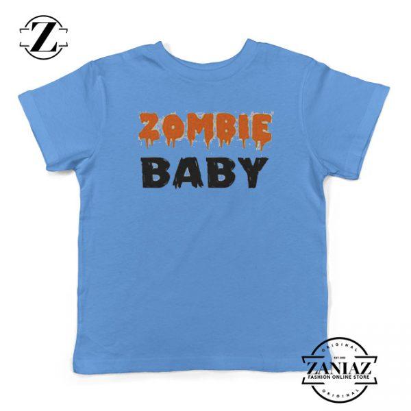 Halloween Shirt Zombie Baby Cute Halloween Shirt