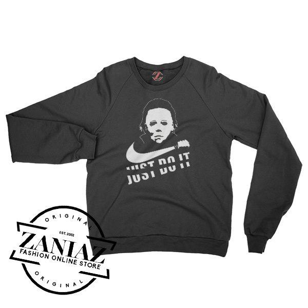 Just Do It Horror Costume Halloween Sweatshirt Crewneck Size S-3XL