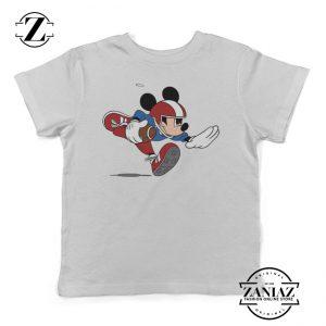 Mickey Mouse Kids Shirt American Football Tees