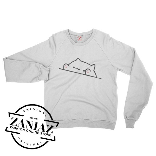 Bongo Cat Japanese Christmas Gift Sweatshirt Crewneck Size S-3XL