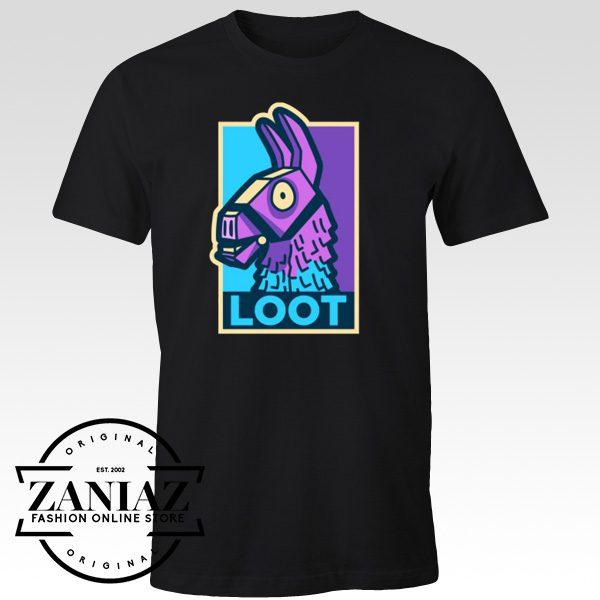 Buy Cheap Loot Llama Hope Fortnite Gift T-Shirt