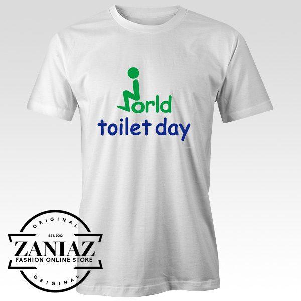 Buy Cheap Tshirt Men World Toilet Day Gift Shirt