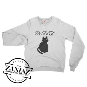 Buy Gift Cat Christmas Sweatshirt Crewneck Size S-3XL
