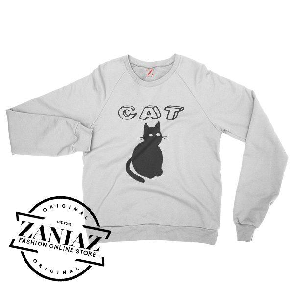 Buy Gift Cat Christmas Sweatshirt Crewneck Size S-3XL
