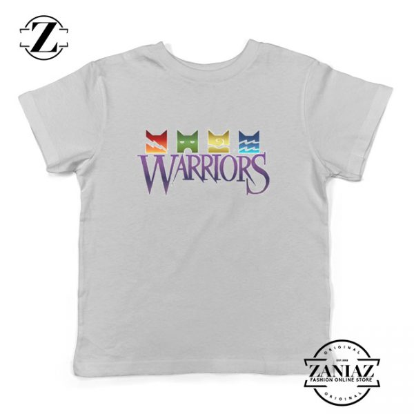 Cheap Christmas Gift Warrior Cats Logo Kids Tees