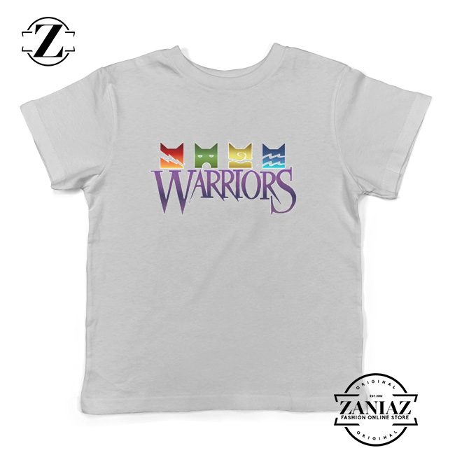 4b6324b03 Cheap Christmas Gift Warrior Cats Logo Kids Tees - Cheap Kids Clothes