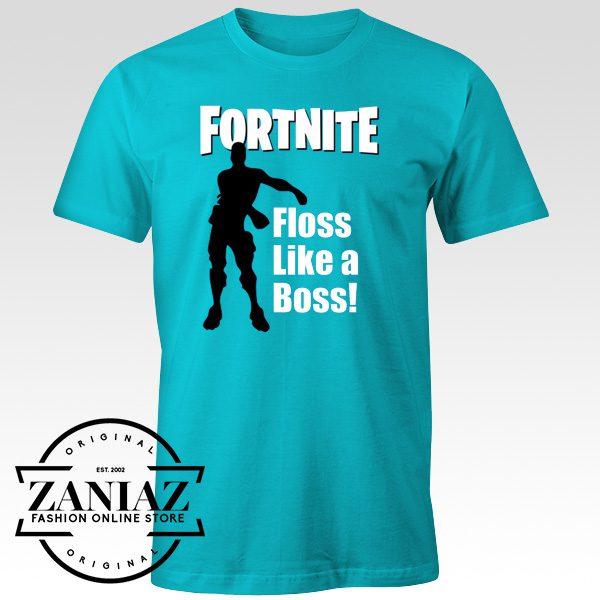 Cheap Fortnite Tee Shirt Floss like a Boss Gift Shirt