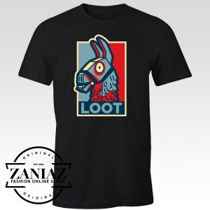 Cheap Gift Shirt Loot Llama Hope Fortnite Game
