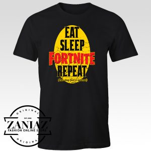 Chrismast T-Shirt Fortnite Eat Sleep Fortnite Repeat