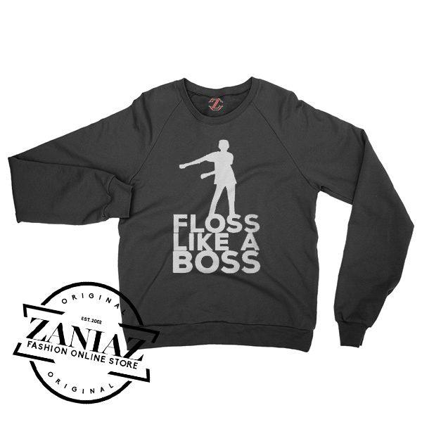 Christmas Gift Floss Like A Boss Dance Sweatshirt Crewneck Size S-3XL