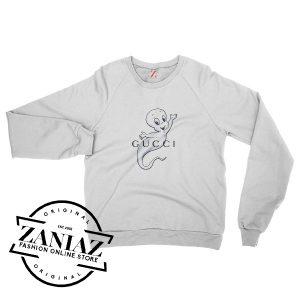Christmas Gift Sweatshirt Gucci Casper Crewneck Size S-3XL