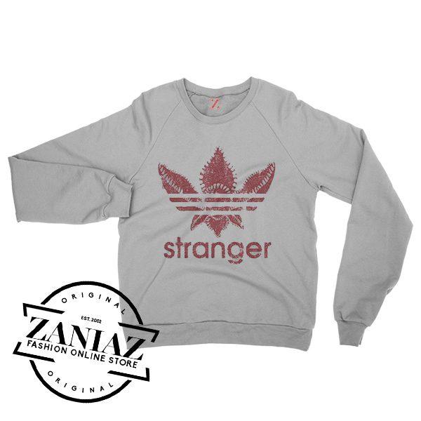 Christmas Gift Sweatshirt Stranger Things Crewneck Size S-3XL
