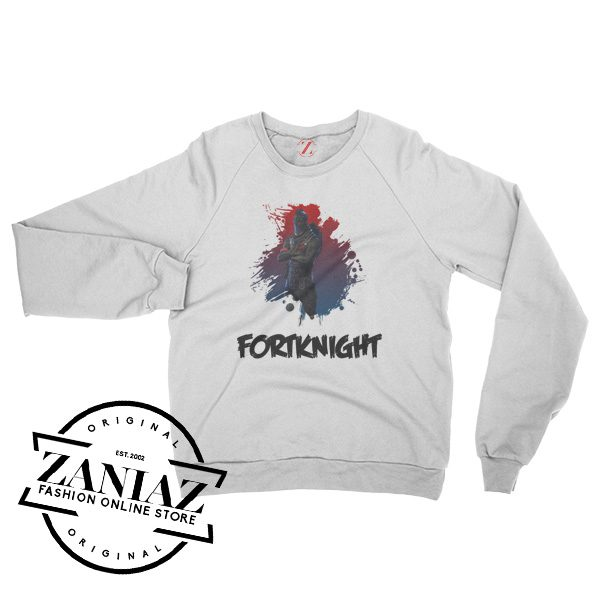 Fortknight Black Knight Christmas Sweatshirt Crewneck Size S-3XL