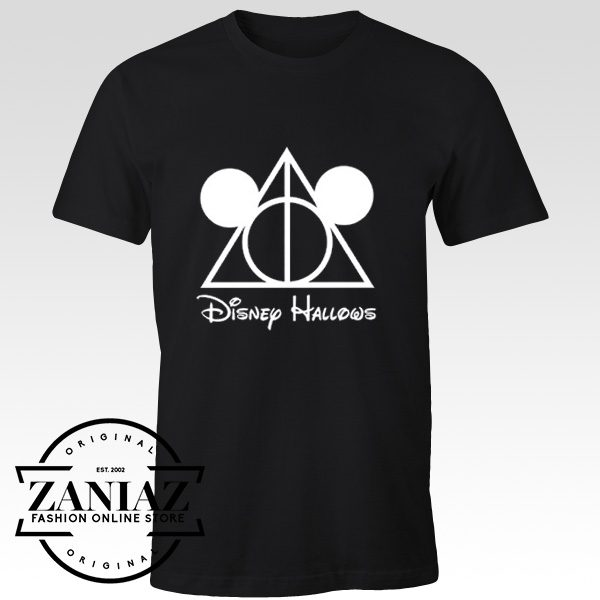 Mickey Mouse Harry Potter Deathly Hallows Tees
