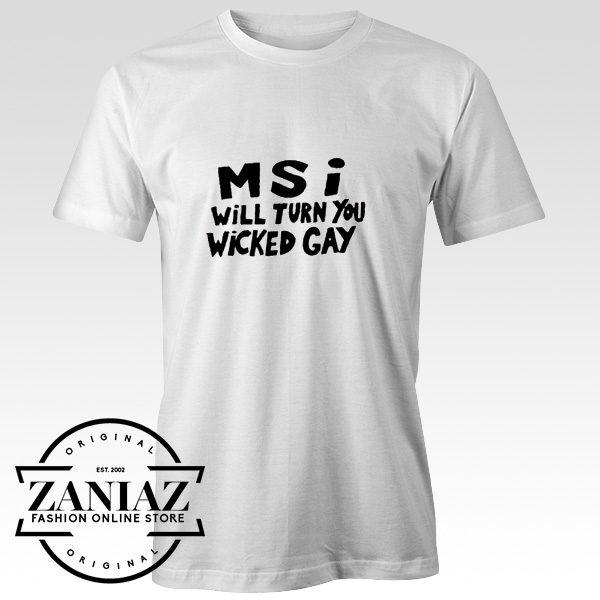 Mindless Self Indulgence Wicked Gay Sign Tshirt