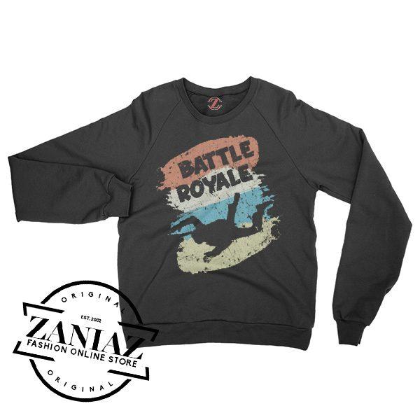 Retro Style For Battle Royale Games Gift Sweatshirt Crewneck Size S-3XL