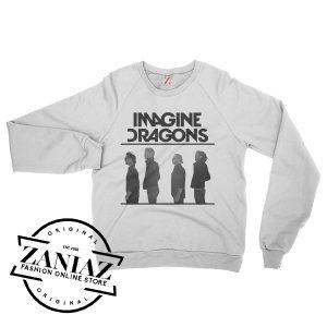 Sweatshirt Imagine Dragons Smoke Mirrors Crewneck Size S-3XL