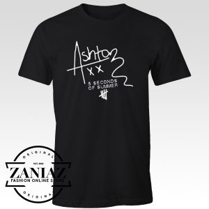 5SOS Custom Tshirt Cheap Ashton Irwin Signature