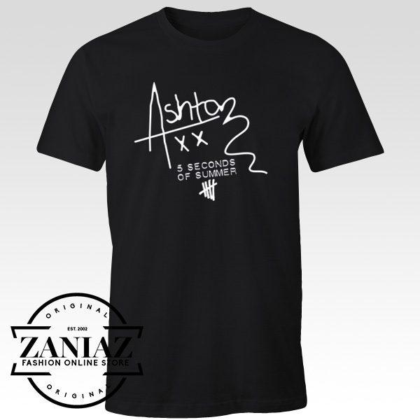 5SOS Custom Tshirt Cheap Ashton Irwin Signature