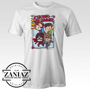 5SOS Tshirt Avengers Tshirt Print Womens Mens