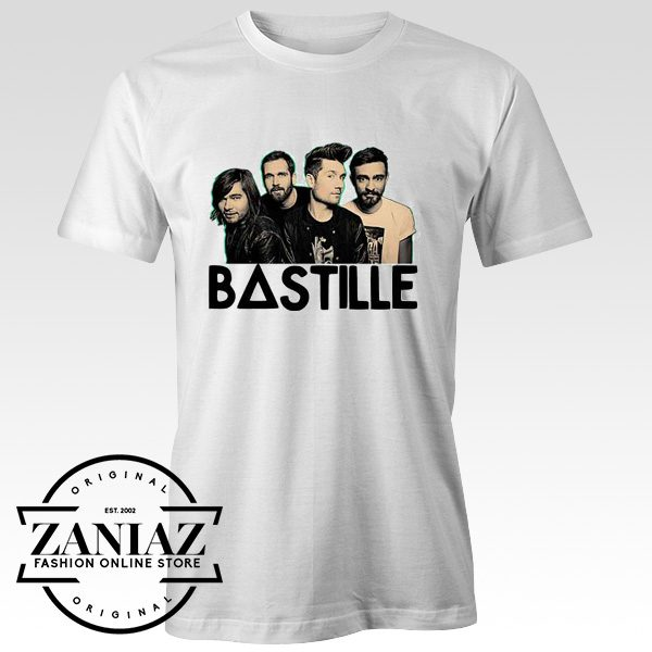 Bastille Cover Band Funny Tshirt Mens and Womens
