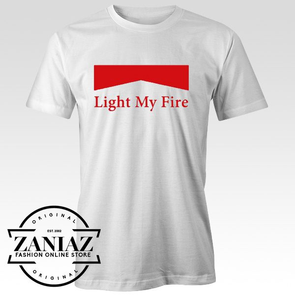 a1497a21625 Best Tee Shirt Light My Fire The Doors Rock Band - Cheap Kids Clothes