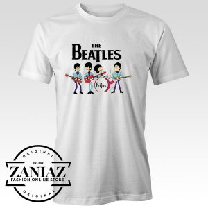 Best Tee Shirt The Beatles Cartoon Custom Tshirt