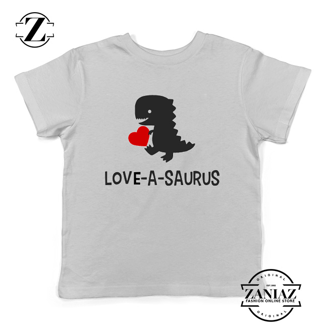 cf175bbc0 Boys Valentine Shirts Love a Saurus Dinosaur Shirt - Cheap Kids Clothes