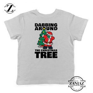 Buy Dabbing Around the Christmas Tree Kids Shirt