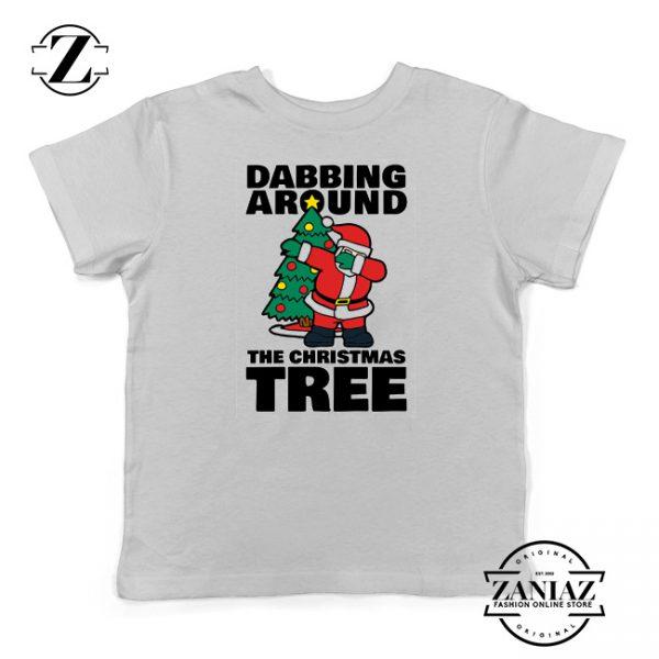 Buy Dabbing Around the Christmas Tree Kids Shirt