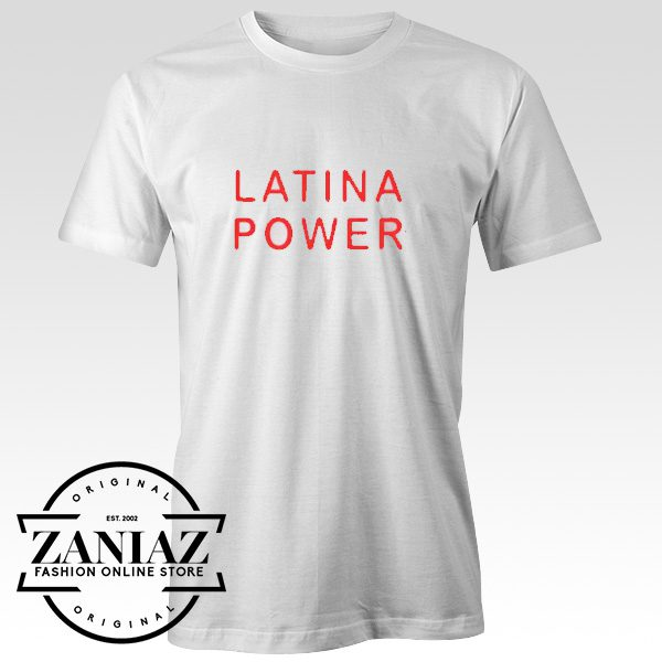 Cheap Christmas Gift Latina Power T-shirt Adult