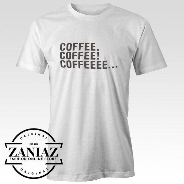Cheap Christmas Gift Tshirt Coffee Unisex Adult