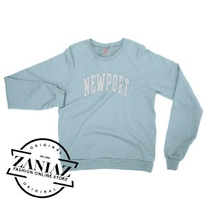 Cheap Christmas Newport Light Blue Sweatshirt Crewneck Size S-3XL