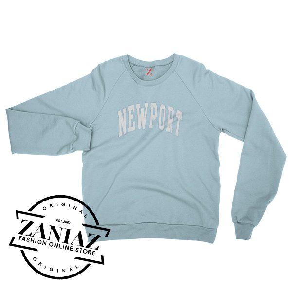 Cheap Christmas Newport Light Blue Sweatshirt Crewneck Size S-3XL