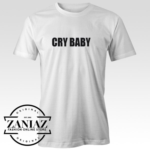 Cheap Cry Baby Christmas Gift Women Men Shirt