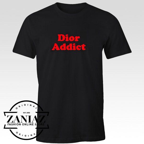 Cheap Gift Shirt Dior Addict T shirt Unisex Adult