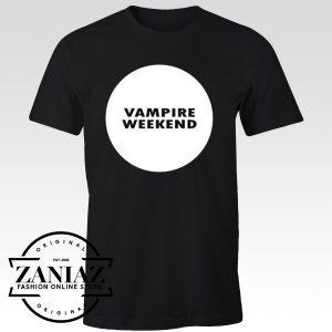 Cheap Graphic Tee Shirts Vampire Weekend Logo