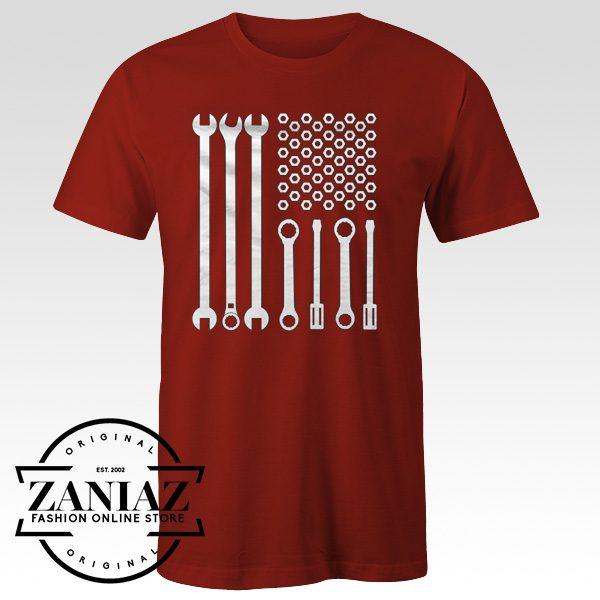 Cheap Mechanician Gift Shirt American Mechanic