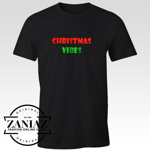 Cheap Shirt Christmas Vibes T shirt Unisex Adult