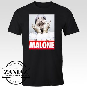 Cheap Tee Shirt Post Malone American Rapper