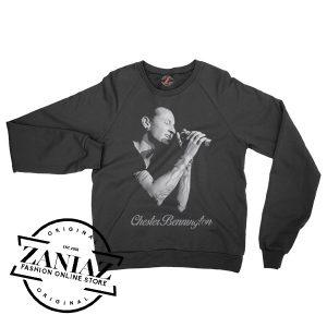 Chester Bennington Linkin Park Gift Sweatshirt Crewneck Size S-3XL