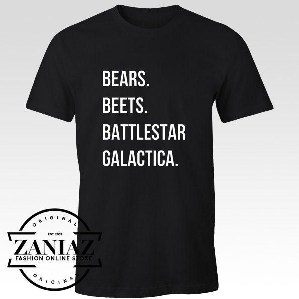 Christmas Gift Bears Beets Battlestar Galactica Shirt