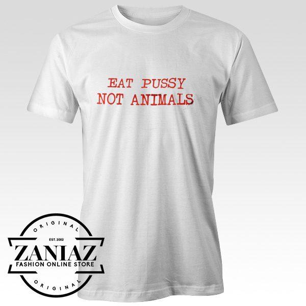 Christmas Gift T shirt Eat Pussy Not Animals Shirt