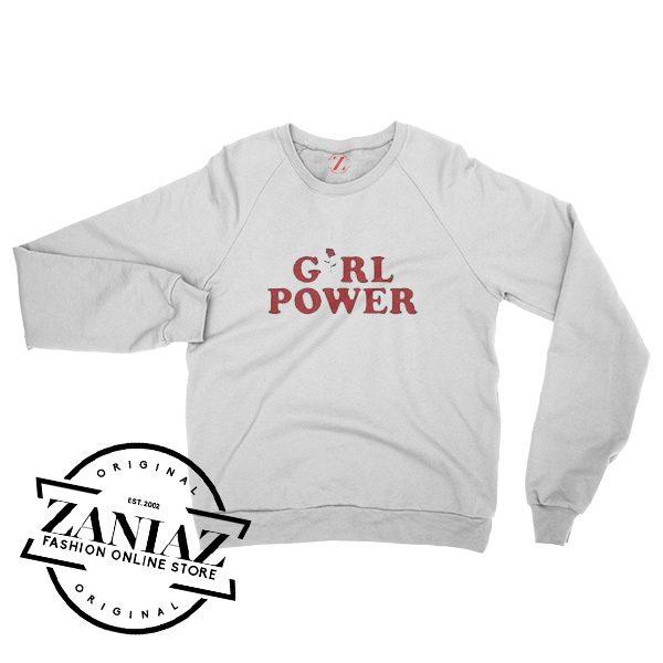 Feminism Girl Power Gift Cheap Sweatshirt Crewneck Size S-3XL