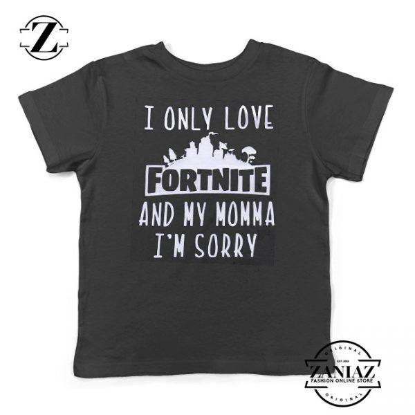Fortnite Kids T-shirt I Only Love Fortnite Youth Tee