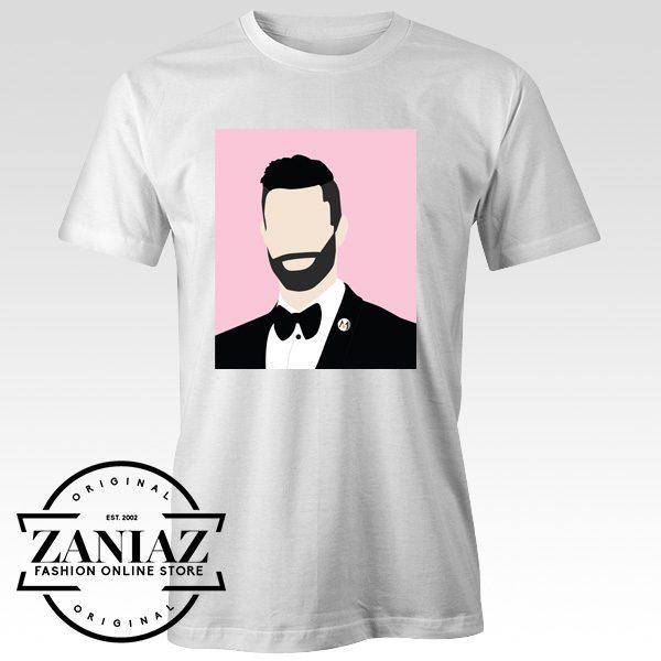 Maroon Five Adam Levine Vector Gift Tshirt Adult