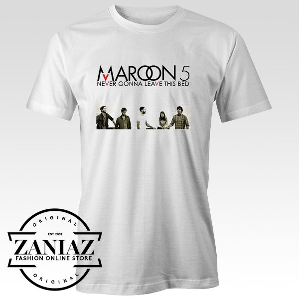 Maroon Five Never Gonna Leave T shirt
