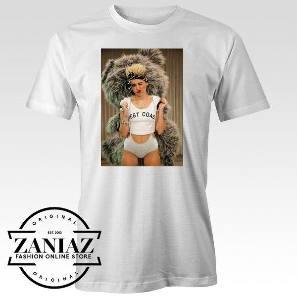 Miley Cyrus Teddy Bear T shirt Mens and Womens