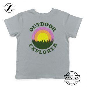 Outdoor Explorer Kids Clothes Outdoors Shirt