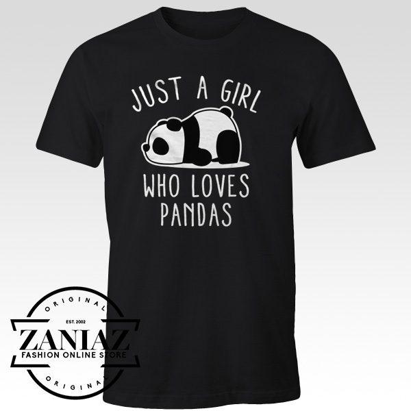 Panda Lover Shirt Animal Gift Shirt Panda Birthday